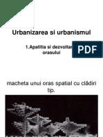 Urbanizarea Si Urbanismul