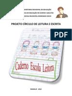 Caderno Escola Leitora - Emef Domingos Savio