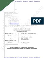 CA - Judd - ECF 27 - 2012-10-11 - Astrue Land Et Al MOTION to Dismiss