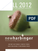 New Harbinger Fall12TradeCatalog