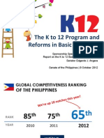 K to12 Sponsorship Speech Powerpoint Presentation