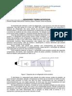 ESTUDO DE REFRIGERADORES TERMO-ACÚSTICOS