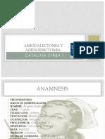 Amigdalectomia y Adenoidectomia
