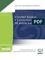 Cuadro Basico y Catalogo de Medicamentos 2006