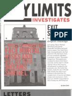 City Limits Magazine | Exit Strategy | 2008 Winter | citylimits.org