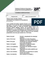 Actas 2003
