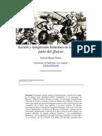 Acción y trasgresión femenina en la primera parte del Quijote