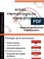 TRASTORNOS HEMORRAGICOS HEREDITARIOS