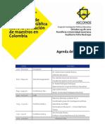 Ascofade Agenda Octubre 30