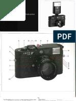 Leica M6 TTL Instructions