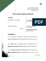 Midwinter Directed Verdict