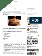 Cara Membuat Pancake Enak