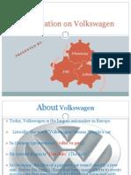 Presentation on Volkswagen's History