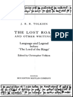 Tolkien the Lost Road