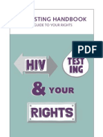 BCCLA HIV Testing Handbook