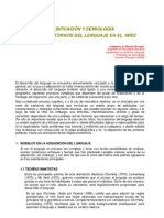 Clasificacion y Semiologia Trastornos L - Dioses - Art