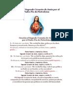 Oración al Sagrado Corazón de Jesús por el Padre Pío de Pietrelcina