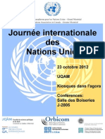 Journée internationale des Nations Unies
