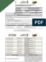 Agenda de Registro de Visita ACA 002