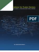 Fusion Center Report