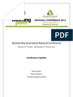 Conference Update 2012