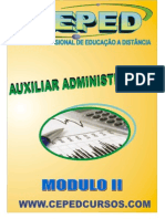 (b) Apostila - Auxiliar Administrativo Modulo II