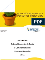 Declaracion Impuestos 2012