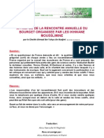 A Propos de La Rencontre Annuelle Du Bourget