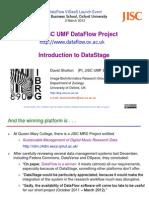 Overview of DataFlow