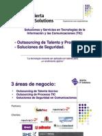 Outsourcing de Talento y Procesos