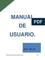 Manual de Usuario Sistema Punto de Venta