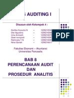 perencanaan audit da prosedur analitis