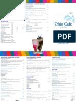 Ohio Cafe Brisbane Menu