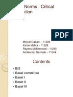 Basel Critical Evaluation