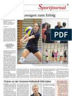 Saisonvorschau 25. September 2012