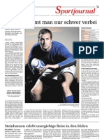 Zeitungsbericht 02. Oktober 2012