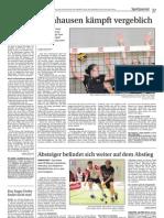 Zeitungsbericht 09. Oktober 2012
