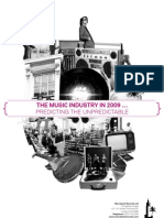 The Music Industry in 2009-Predicting the Unpredictable (c) Marrakesh Records Ltd