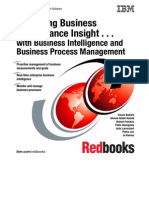 Business Intelligence and Business Process Management