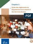 Chapitre 3 Guide Des Rglements Du Dpartement de La Sant Et Des Services Sociaux