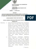 Perka LKPP No 6 Tahun 2012