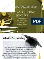 Basic Accounting Concept