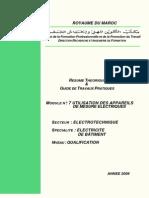 M07 Utilisation des appareils de mesures électriques-GE-EB