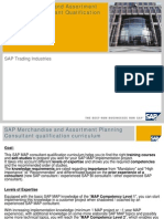 SAP Merchandise and Assortment Planning – Consultant Qualification Curriculum