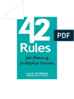 "42 Rules for Growing Enterprise Revenue"" Book Excerpt"
