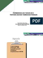 Presentasi Permenkes 033 Edit 1