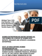 Women Entrepreneurs1