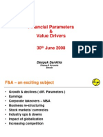 Financial Parameters