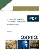 Resumen Ejecutivo Locales 2012.1