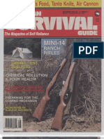 American Survival Guide September 1989 Volume 11 Number 9